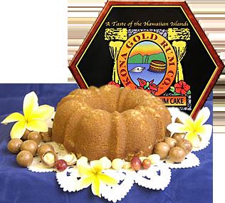 Rum Cake Gift Baskets